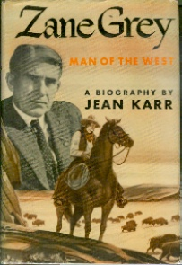 Image for Zane Grey  - Man of the West