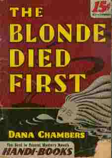 Image for The Blonde Died First