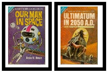 Image for Our Man in Space -- Ace Double with Ultimatum in 2050 A. D.