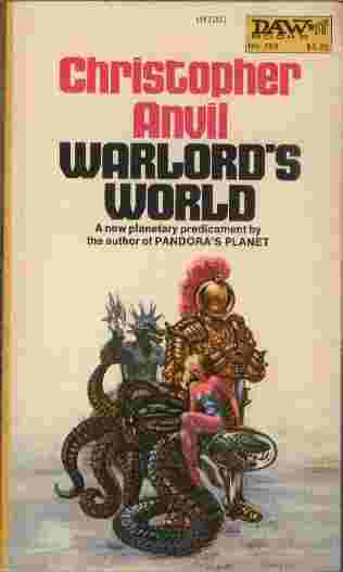 Image for Warlord's World  - A new planetary predicament by the author of Pandora's Planet