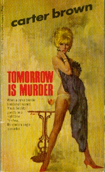 Image for Tomorrow is Murder