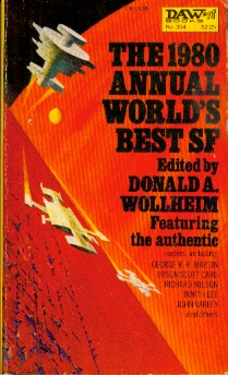 Image for The 1980 Annual World's Best SF