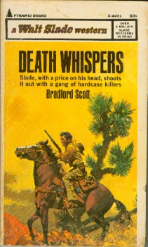 Image for Death Whispers - Slade, with a price on his head, shoots it out with a gang of hardcase killers