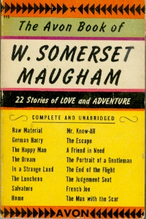 Image for The Avon Book of W. Somerset Maugham 22 Stories of Love and Adventure