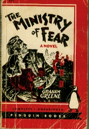 Image for Ministry of Fear, The