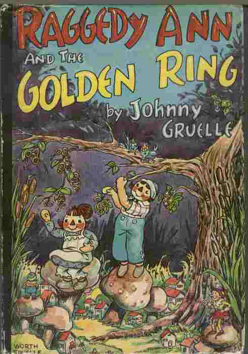 Image for Raggedy Ann and the Golden Ring