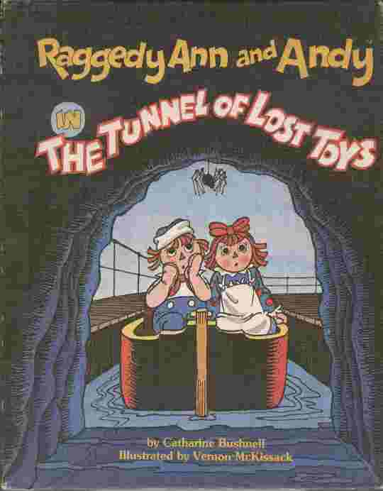 Image for Raggedy Ann and Andy in The Tunnel of Lost Toys