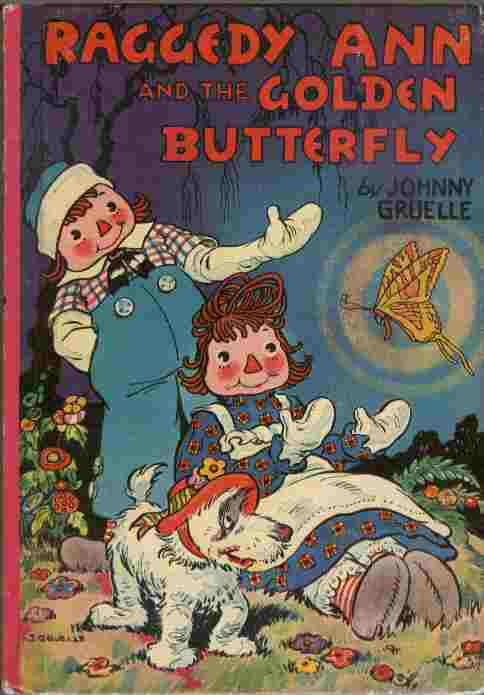 Image for Raggedy Ann and the Golden Butterfly