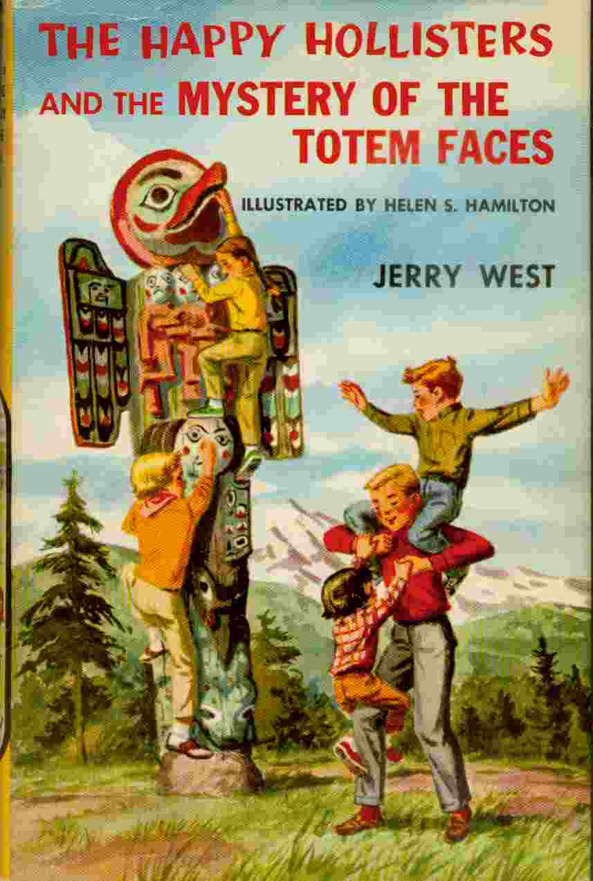 Image for Happy Hollisters and the Mystery of the Totem Faces, The