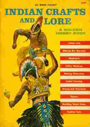 Image for Indian Crafts and Lore  - A Golden Hobby Book