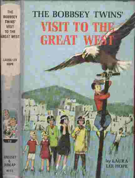 Image for The Bobbsey Twins' Visit to the Great West
