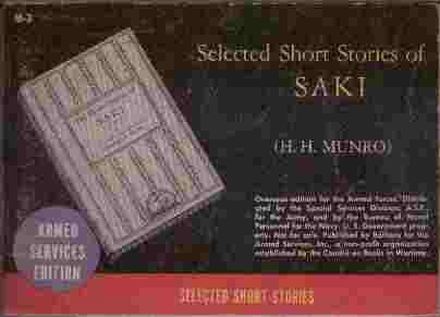 Image for Selected Short Stories of Saki