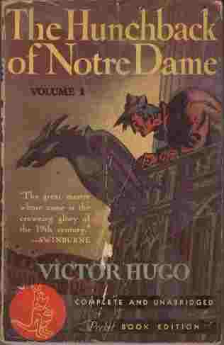 Image for The Hunchback of Notre Dame  - Volume I