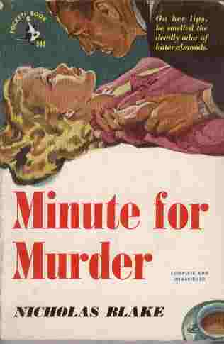 Image for Minute for Murder