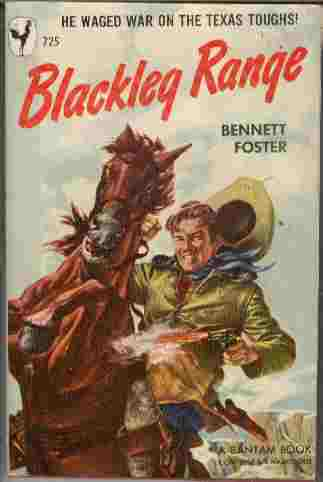 Image for Blackleg Range  - He Waged War on the Texas Roughs!
