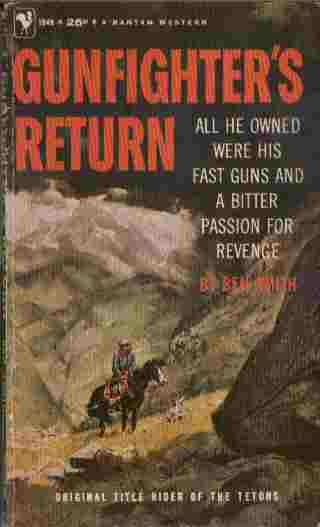 Image for Gunfighter's Return -- All He Owned Were His Fast Guns and a Bitter Passion for Revenge