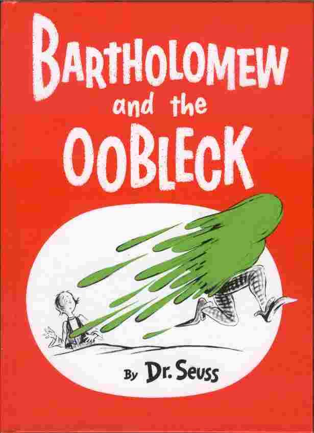 Image for Bartholomew and the Oobleck
