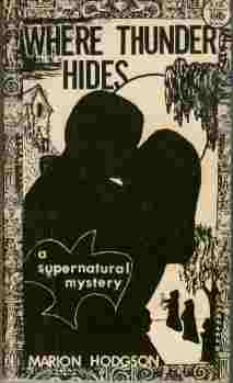 Image for Where Thunder Hides  - A Supernatural Mystery