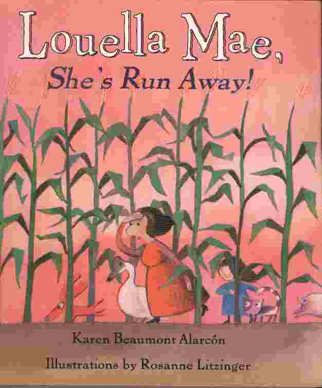 Image for Louella Mae, She's Run Away!