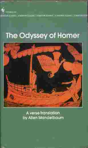 Image for The Odyssey  - A Verse Translation by Allen Mandelbaum