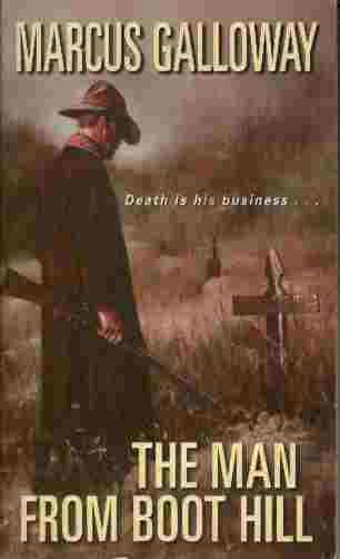 Image for The Man from Boot Hill  - Death is His Business