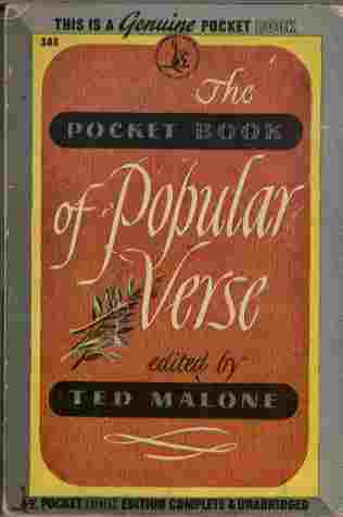 Image for The Pocket Book of Popular Verse