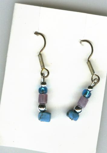 Image for Handmade Earrings  - Turquoise Drops