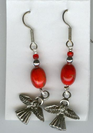 Image for Handmade Earrings -- Angels