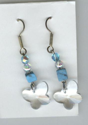 Image for Handmade Earrings -- Butterflies
