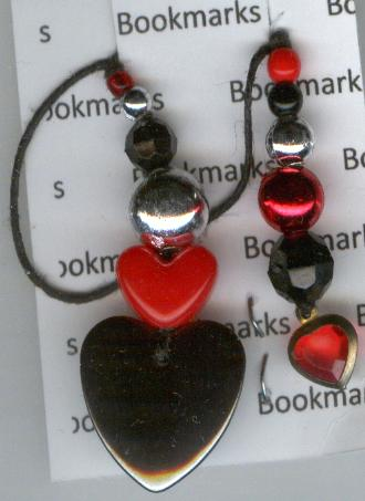 Image for Bookmark  - Heart