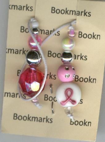 Image for Bookmark -- Pink Ribbon