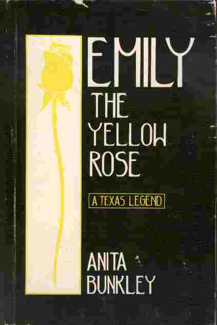 Image for Emily the Yellow Rose  - A Texas Legend