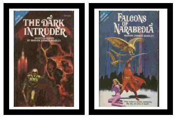 Image for Falcons of Narabedla / The Dark Intruder