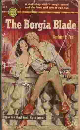 Image for The Borgia Blade  - A stableboy with a magic sword and the fame and love it won him