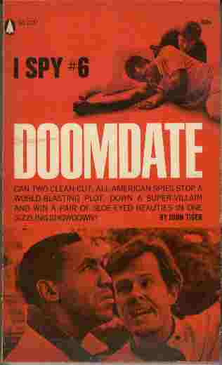 Image for Doomdate  - Can two clean-cut all-American spies stop a world-blasting plot, down a super-villain and win a pair of sloe-eyed beauties in one sizzling showdown?