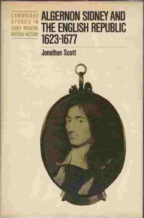 Image for Algernon Sidney and the English Republic 1623-1677