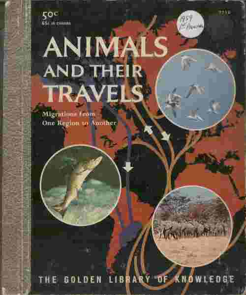 Image for Animals and Their Travels  - Migrations from one region to another