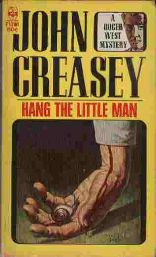 Image for Hang the Little Man  - A Roger West Mystery