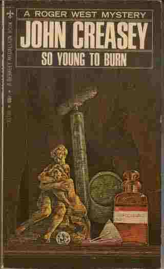 Image for So Young to Burn  - A Roger West Mystery