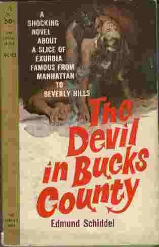 Image for The Devil in Bucks County  - A shocking novel about a slice of exurbia famous from Manhattan to Beverly Hills