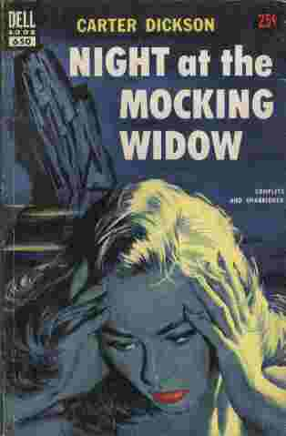 Image for Night at the Mocking Widow  - Horror was quietly taking over the village.