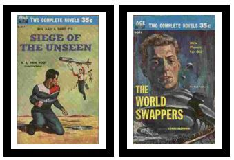 Image for Siege of the Unseen / The World Swappers  - Evil had a third eye / New planets for old