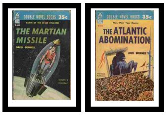 Image for The Martian Missile / The Atlantic Abomination  - Pawn of the space invaders / Man, meet your master