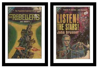 Image for The Rebellers / Listen! The Stars!  - The Population Explosion conspiracy / Tune in on eternity - and disappear