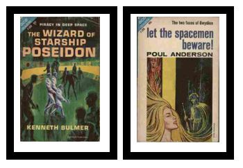 Image for The Wizard of Starship Poseidon / Let the Spacemen Beware!  - Piracy in deep space / - The two faces of Gwydion