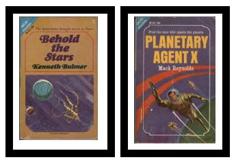 Image for Behold the Stars / Planetary Agent X  - The space-boxes brought terror to Terra / Find the man who upsets the planets