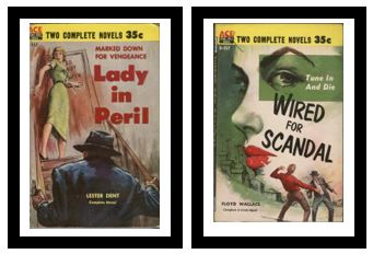 Image for Lady in Peril / Wired for Scandal  - Marked down for vengeance / - Tune in and die